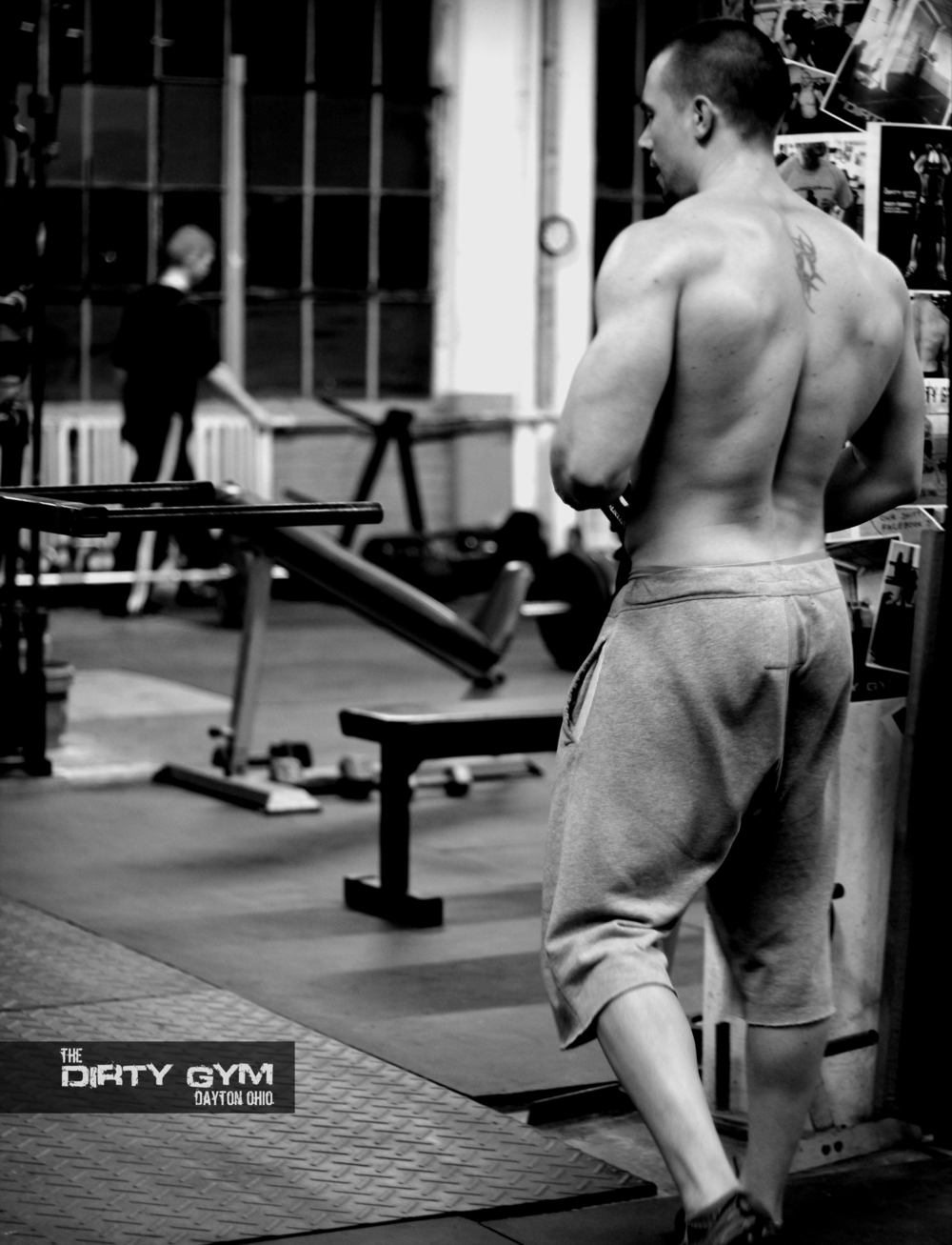 Dirty Gym Coach and Athlete Matt Swartout, 2-weeks out from his first (and possibly last) Physique Competition.