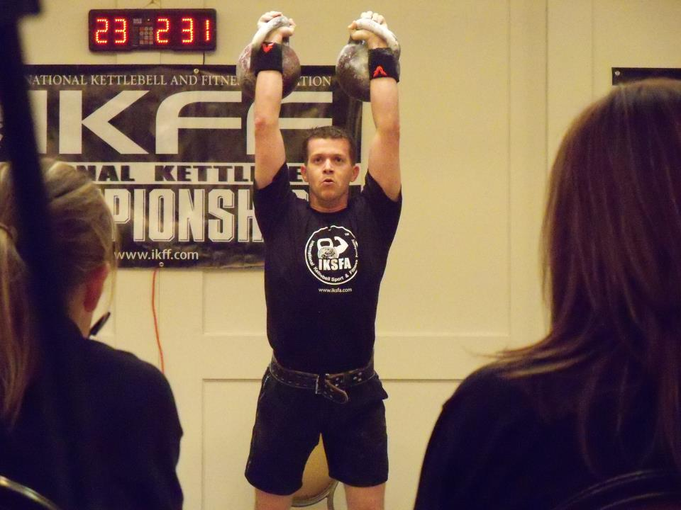 Marty Farrell winning at the IKFF Championships.