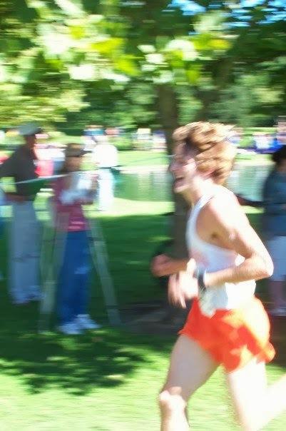 """David Speak, """"whitebread"""" cross country runner."""