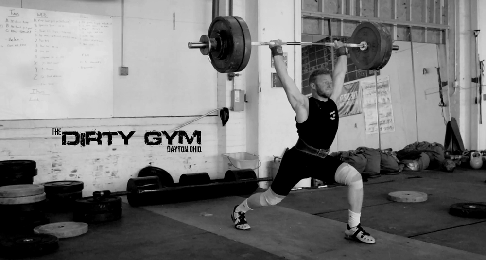 Weightlifting. The Dirty Gymspecializes in Coaching athletes in the Snatch and Clean & Jerk movements. For novices and experts alike in Weightlifting Sport and CrossFit competition.