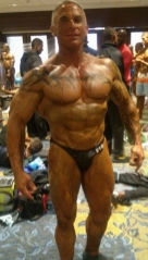 Rob Grissom in contest shape.