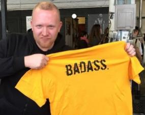 A badass indeed.