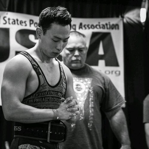 Coach Sung Kim   Has been certified with USAW Level-2 Coach, USPA Coach, Glenn Pendlay Weightlifting, USPA State Referee, and USAW Referee.
