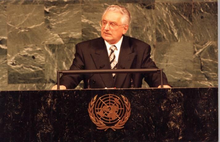 Govor na skupštini Ujedinjenih Naroda.