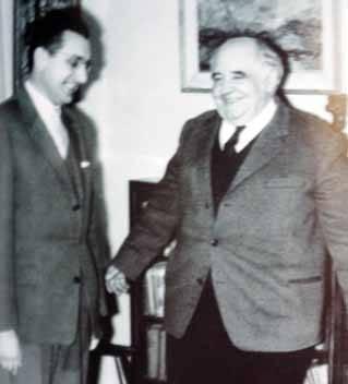 Sa Miroslavom Krležom