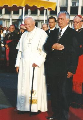 Sa papom Ivanom Pavlom II