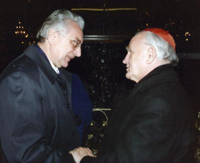 Sa kardinalom Kuharićem
