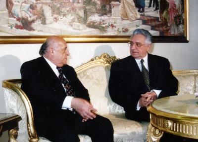 Sa turskim predsjednikom Sulejmanom Demirelom