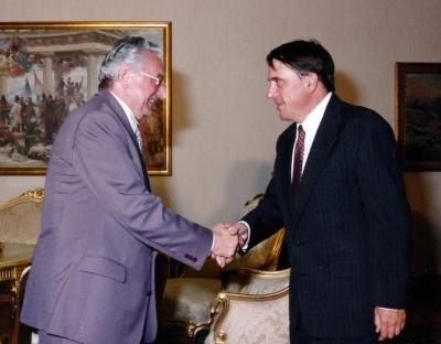 Sa američkim veleposlanikom Peterom Galbraithom