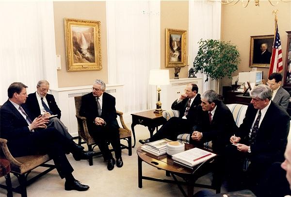 Sa Alom Goreom, potpredsjednikom SAD-a