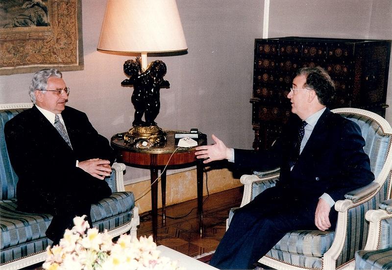 Sa portugalskim predsjednikom Jorgeom Sampaiom