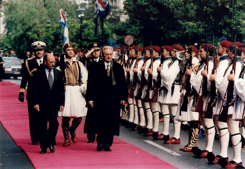 Sa grčim predsjednikom Konstantinos Stephanopoulosom