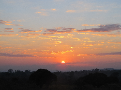 Sunrise in Malawi