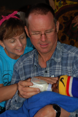 Drew and Tonya Kirkpatrick in Malawi summer of 2013.