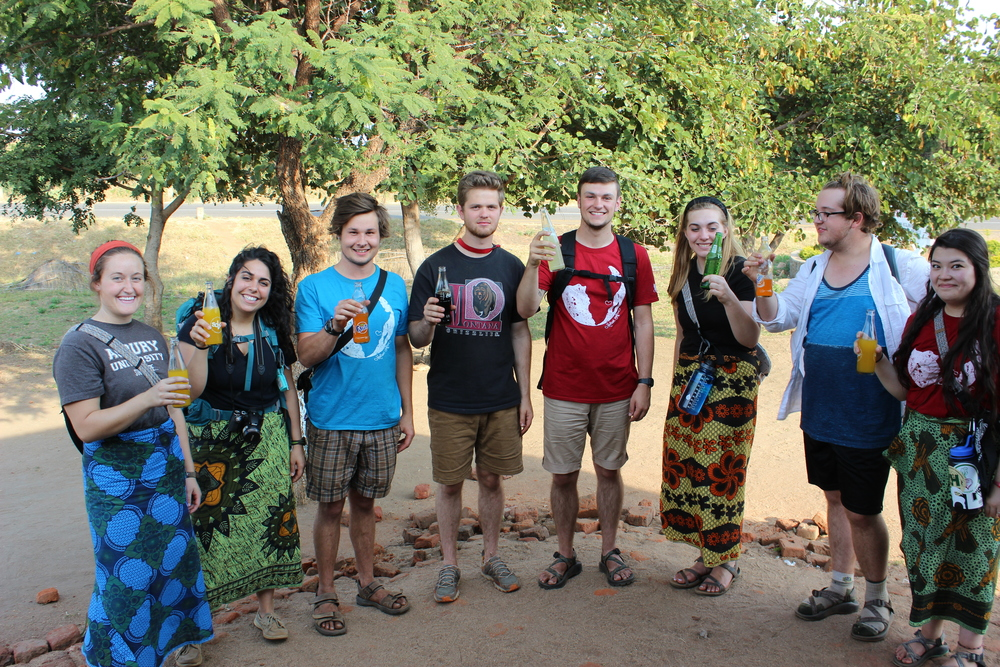 The 2015 Asbury Worship team in Malawi.