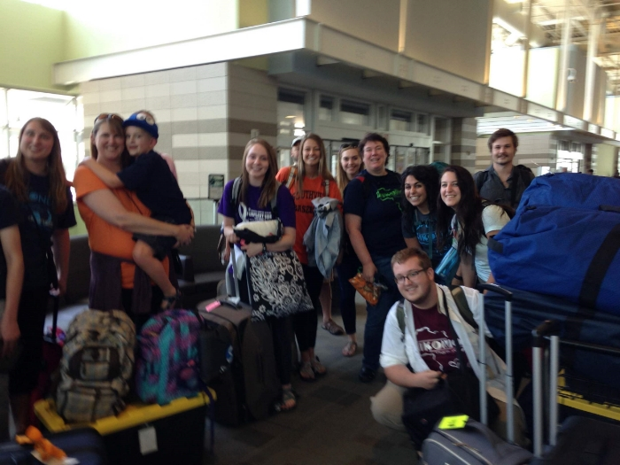 Team 1 is headed to New York where they will spend the night and fly to Johannesburg in the morning!