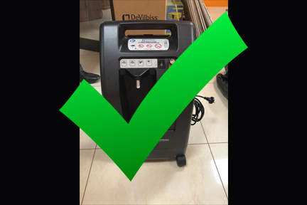 Oxygen Concentrator: DONE $1,300 ea