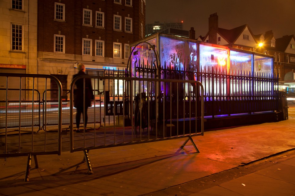 PUBLIC LIFE - THE LONDON CLUB IN AN OLD VICTORIAN TOILET