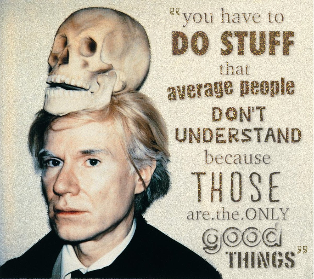 The late, great Andy Warhol