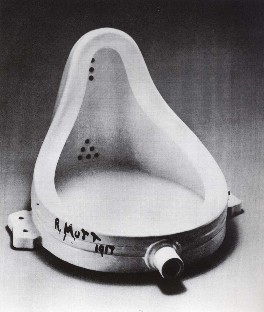 """""""The Fountain"""" by Duchamp Art has many forms: some of them paint, some sculpture, some toilet."""