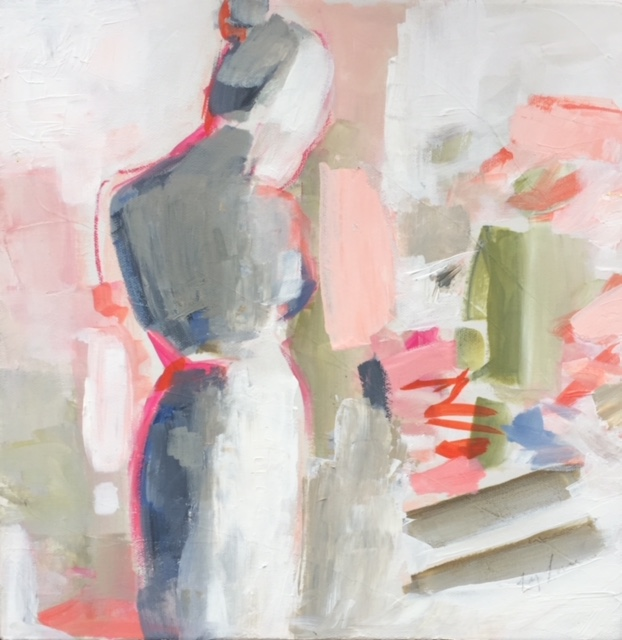 Figure with Pink