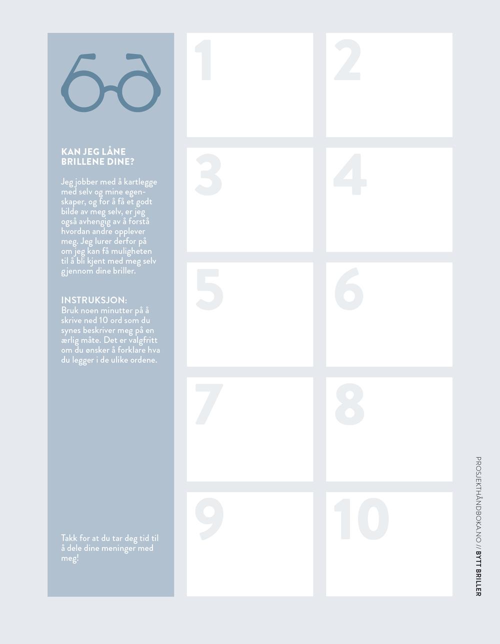 bytt briller  / side 66-67 / kjekt å vite