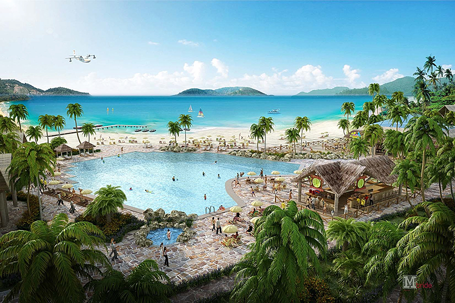 Wyndham Margaritaville Resort Rendering - St. Thomas, USVI