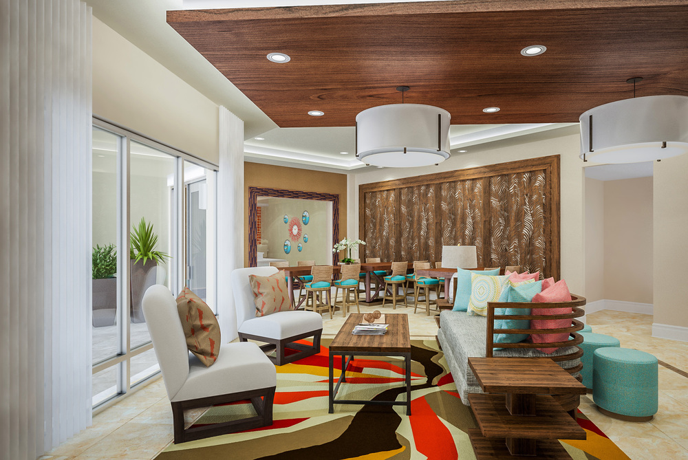 Lobby at 601 Signature Collection designed by Design Poole