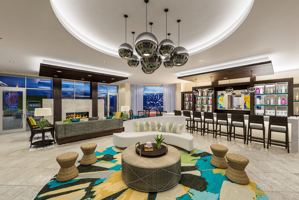 Lobby Bar at 601 Signature Collection designed by Design Poole
