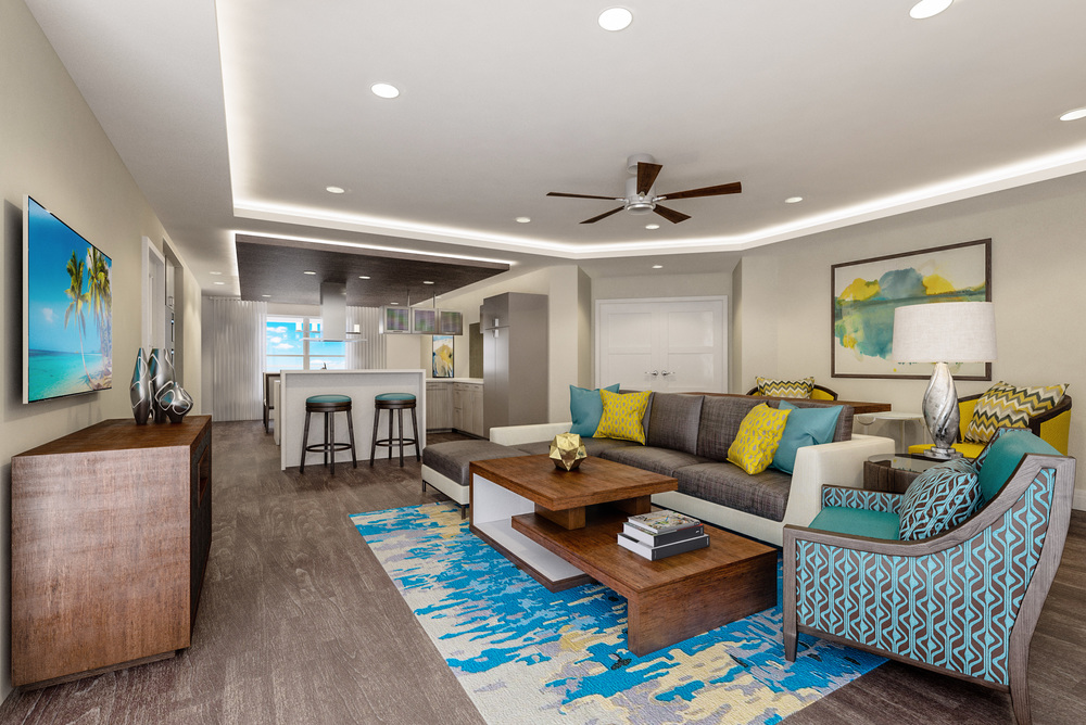 Living at 601 Signature Collection designed by Design Poole