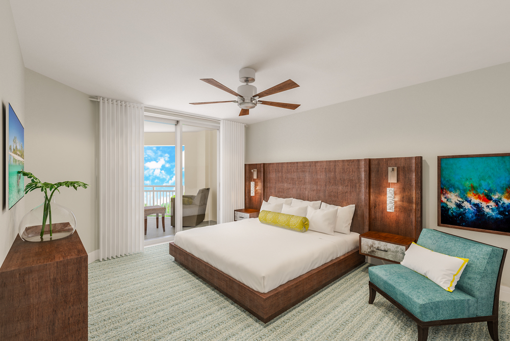 King Guestroom at 601 Signature Collection designed by Design Poole