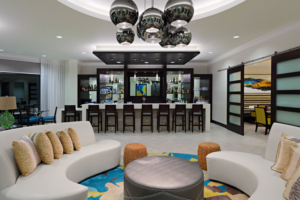 Public Area Of 601 The Reserve In Central Florida, Interior Design By Design  Pool,