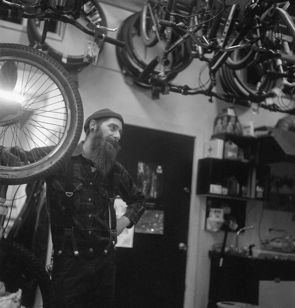 Jacob Freese at The Broken Spoke in Port Townsend, 2011.