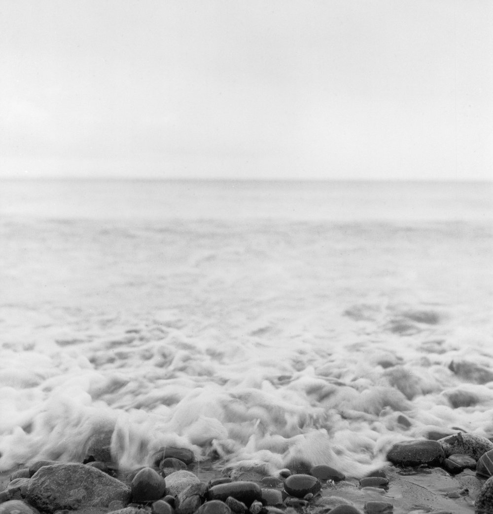 Waves. Port Townsend, 2011.