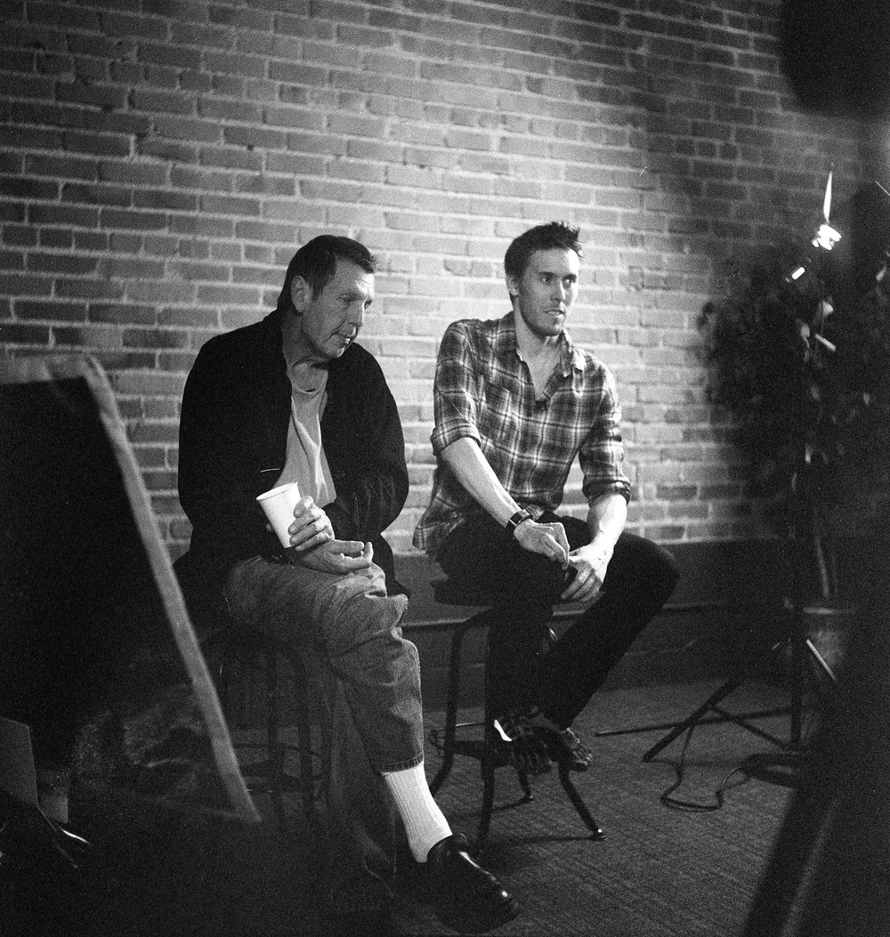Behind the scenes at Creative Live with Gale Tatterersall, 2011.