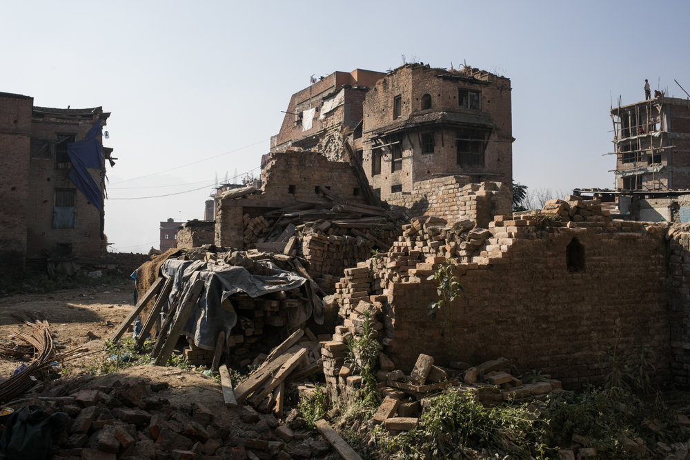 Bhaktapur was the region we visited where the damage from the 2015 earthquake was most evident.