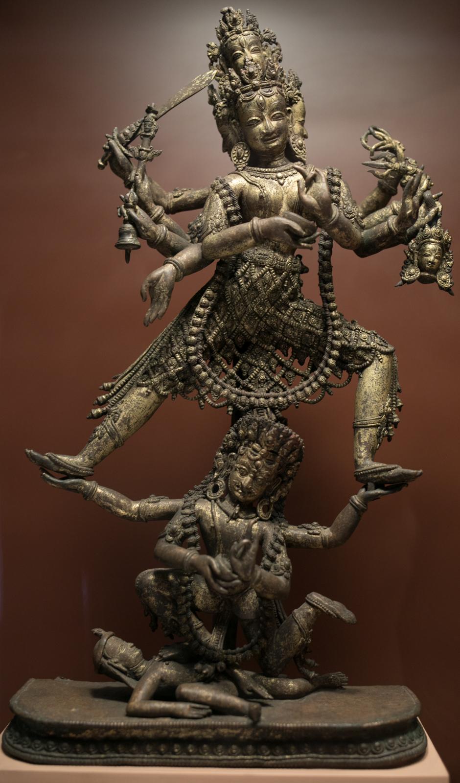 Siddhi Lakshmi. 16th - 17th Century. Bronze. Patan Museum.