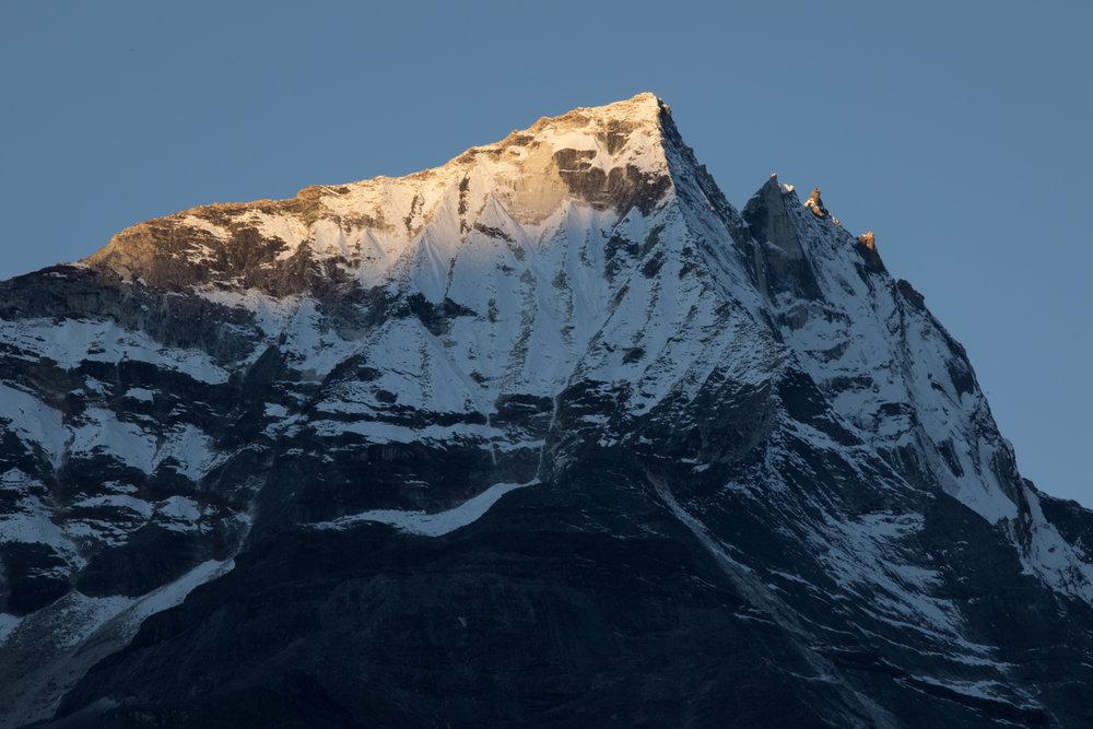 Kongde Lho 6,187 m / 20,299 ft.(Elevation credit: PeakFinder)