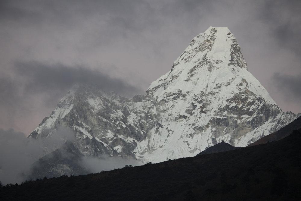 Ama Dablam. Ama Dablam 6,856 m / 22,493 ft.(Elevation credit: PeakFinder)
