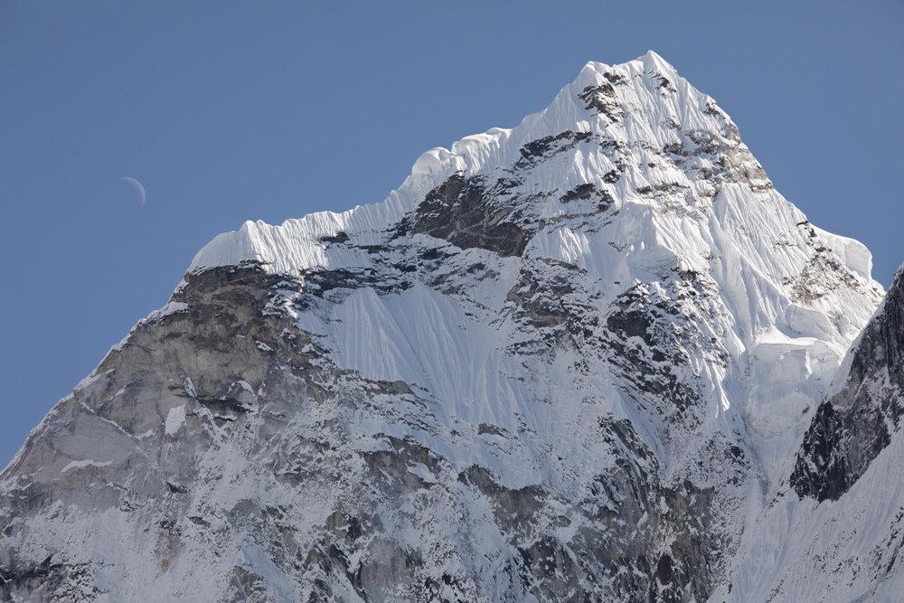 Thamserku 6,623 m / 21,729 ft (Elevation credit: PeakFinder)
