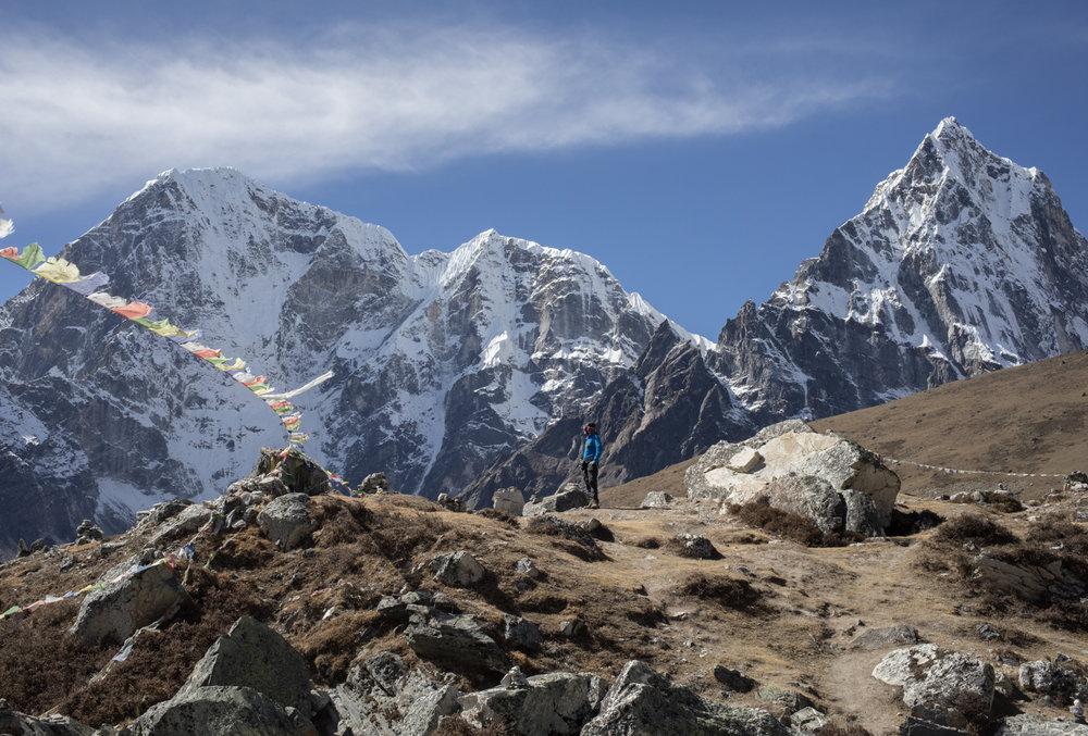 Ambrose Bittner.Taboche 6,495 m / 21,309 ft, Cholatse 6,440 m / 21,129 ft.