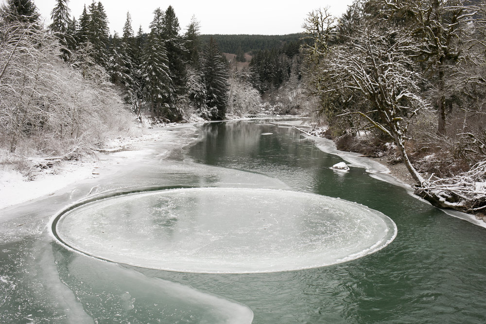 Ice Circle, Middle Fork Snoqualmie River