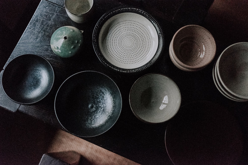 My ceramics haul from Ontayaki no Sato.