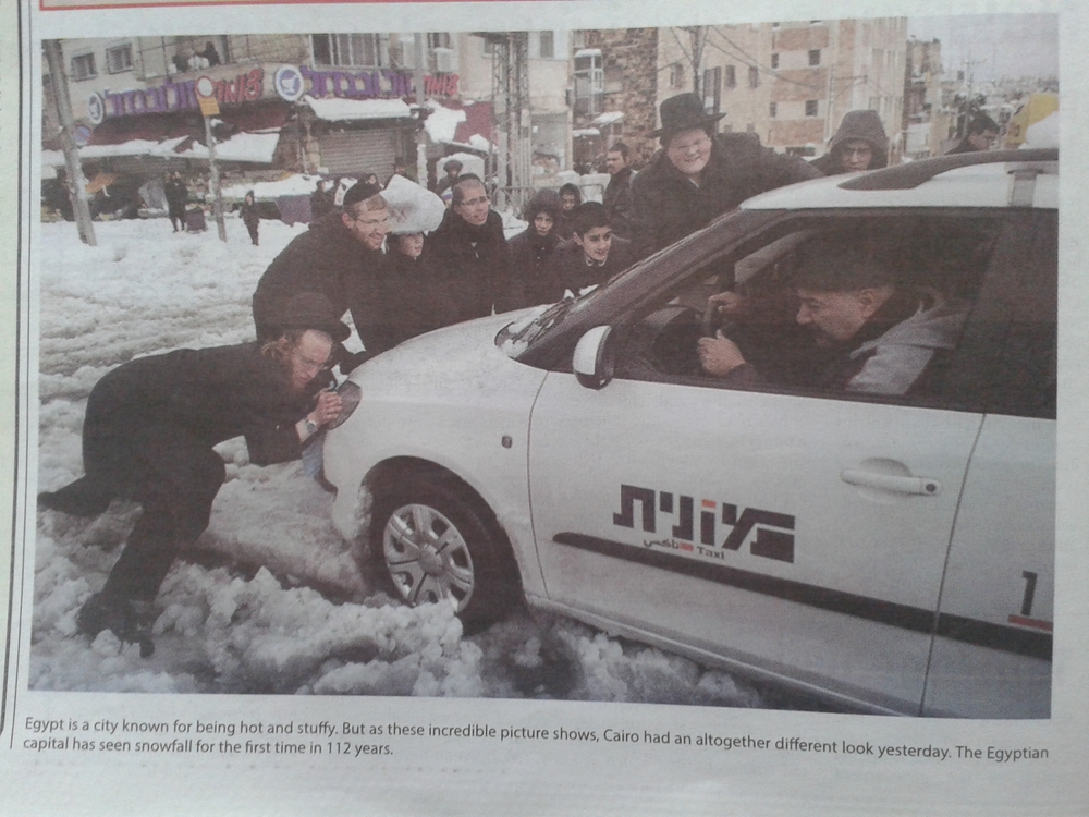 Snapshot of a photo and caption from the Daily Tribune (Bahrain) on 15 Dec 2013
