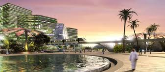 Architect's vision of the King Abdullah Financial City