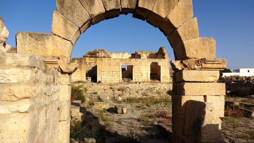 A Tubernuc arch