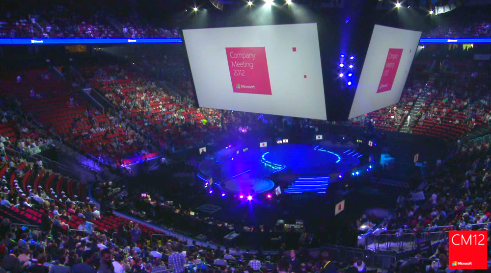 Hosted international streamcast of Microsoft Company Meeting?  That was us, working with Microsoft Production Studios.