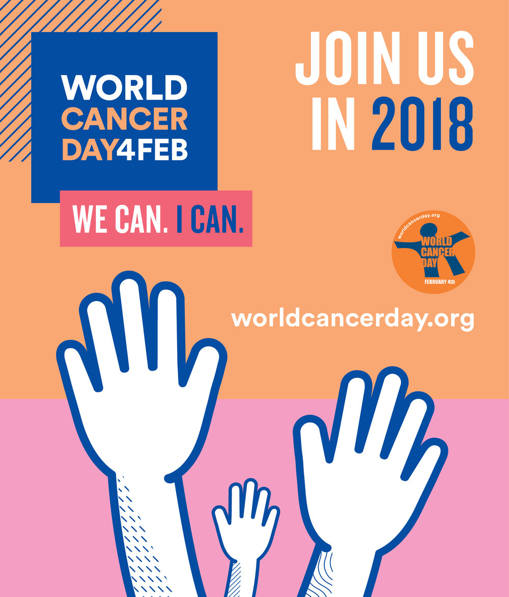 Learn more at :  World Cancer Day.org