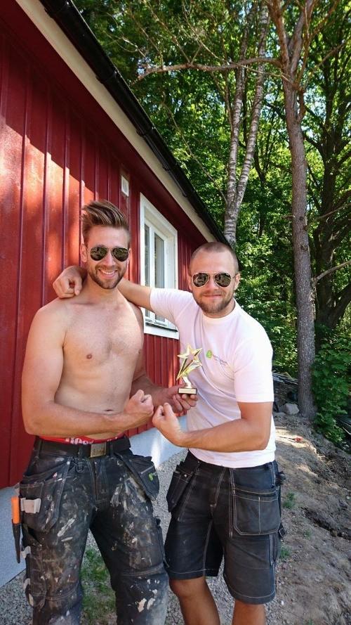 Robert Fasth & Joakim Olsson vann Månadens delade Kanon. 2 000 kr extra totalt på nästa lön.