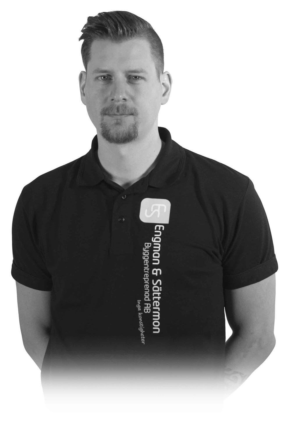 Anton Kjernholm - Månadens Kanon Juni Snickare/Plattsättare på Engman & Sättermon Byggentreprenad AB